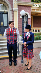 Disneyland Holiday Time Tour Guides