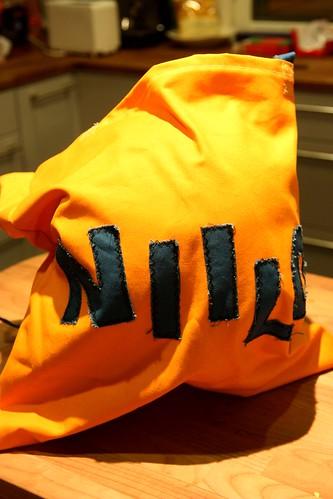 Bag for hockey gear