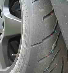 Tyre wear