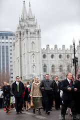 LDS General Conference Crowd Photography