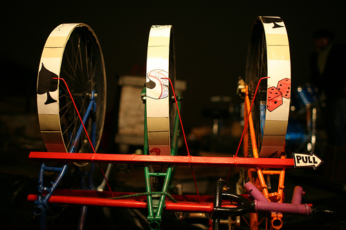 bicycle slot machine