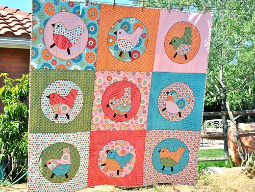 Birdie Big Block Quilt