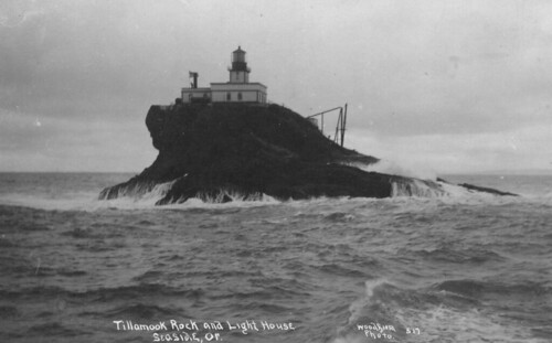 Tillamook Rock and Lighthouse by OSU Special Collections & Archives