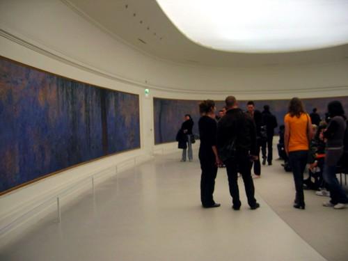 Monets Les Nymphéas at the Musée de l'Orangerie