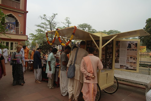 Mayapur Academy on wheels !