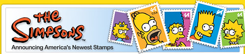 New Simpson Stamps from UPS