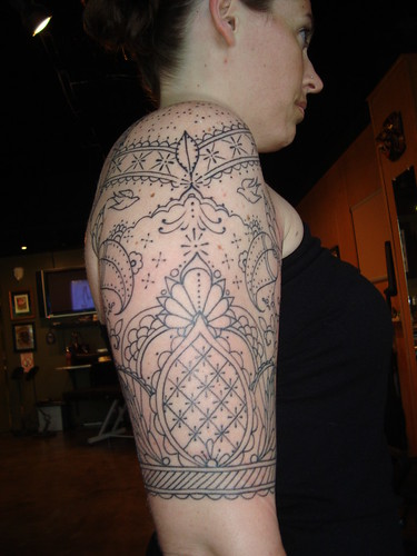 henna half sleeve | Flickr - Photo Sharing!