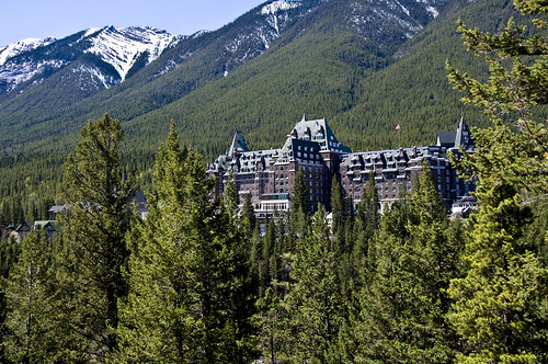 Castle in the Rockies - the Banff Springs Hotel