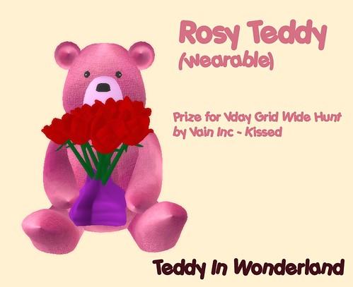 Rosy Teddy