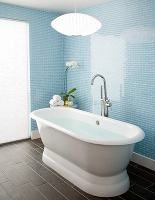 the estate of things chooses blue bath
