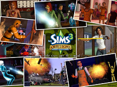 5/3/10 - 2 Sims 3 wallpapers from Brica Sims