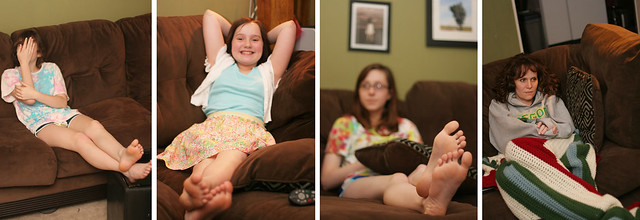 Bare Feet Collage