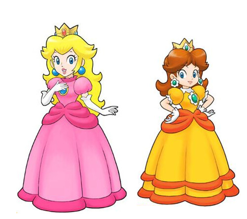 Image result for princess peach and daisy