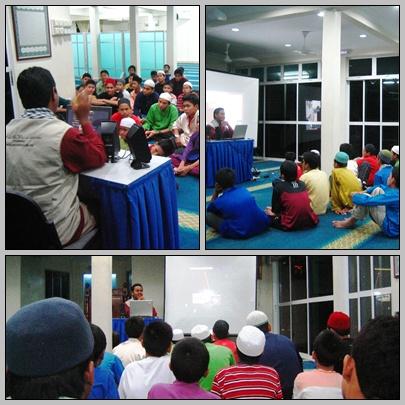 Ceramah Gaza dan Remaja