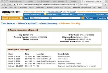 My lens is on its way!