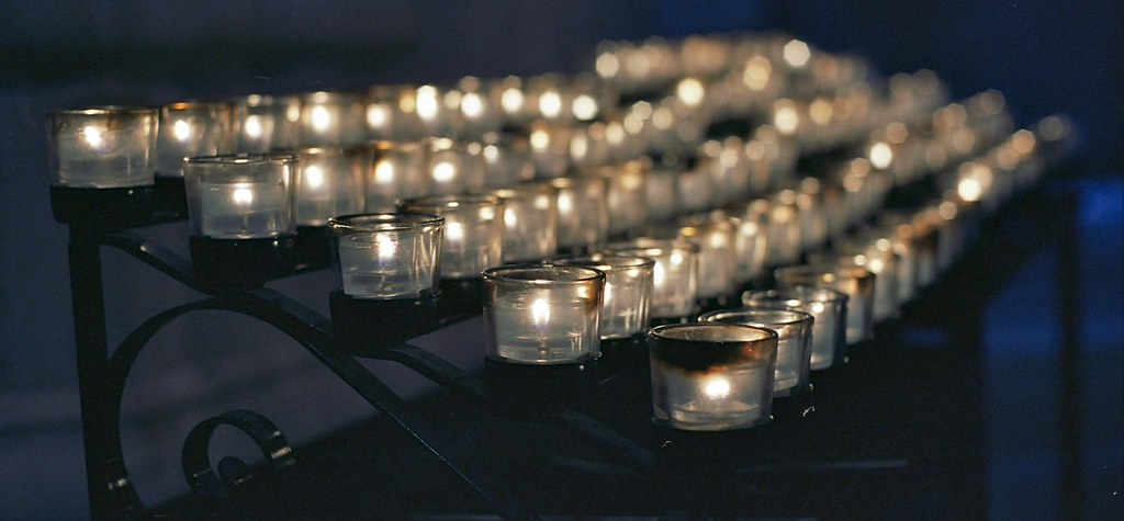 votives in the national cathedral