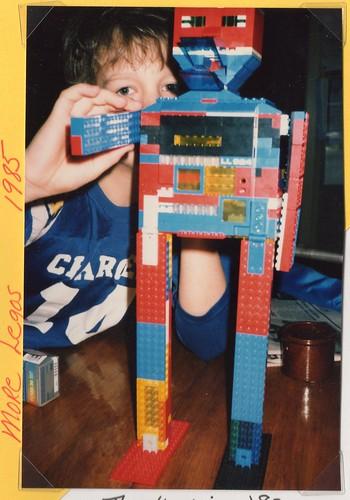 early lego robot