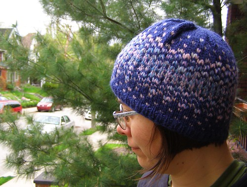 stars and sky reflection hat