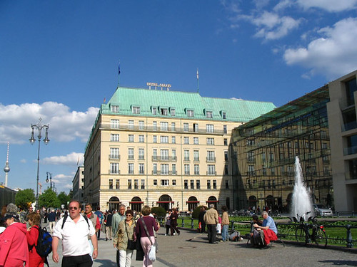 Adlon Hotel and Academy of the Arts, Berlin