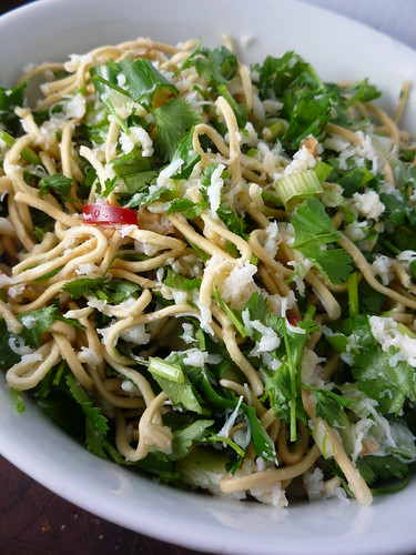 Crab and Cold Noodle Salad