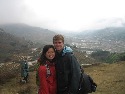 Hello from Sapa! Unfortunately, it was not rice season so the patties were a little bare. Still, a beautiful place.