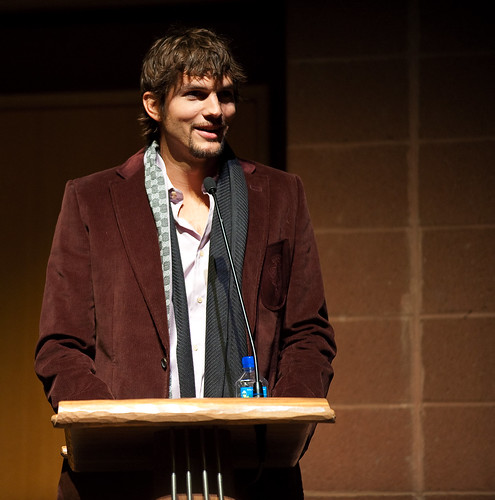 Fame Junkie Ashton Kutcher wants you to follow him.  Dont expect him to follow back.