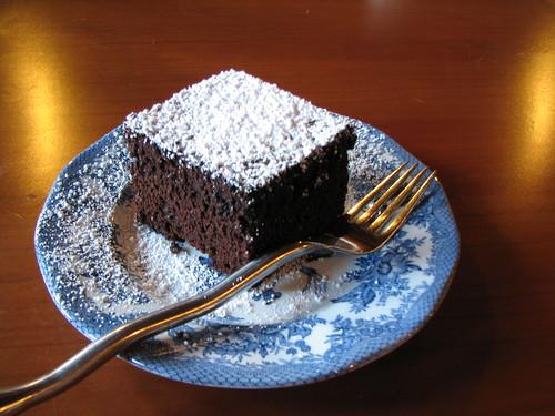 Mmmmm chocolate cake