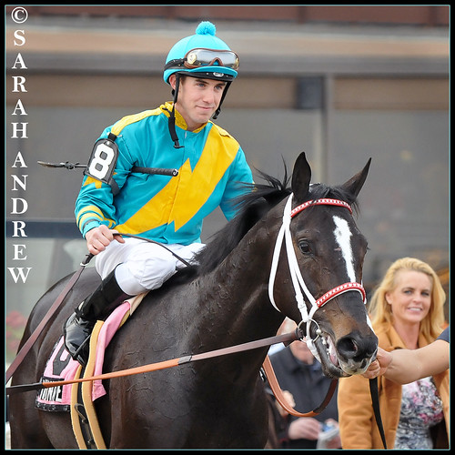 2009 Gotham Stakes winners I Want Revenge and Joe Talamo