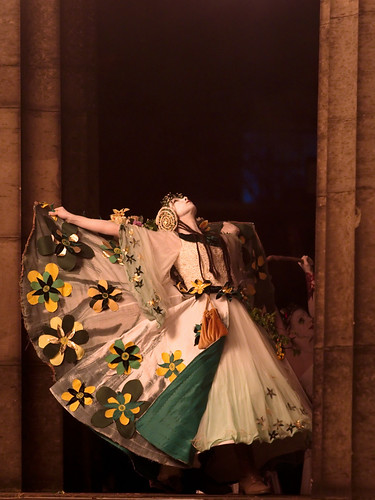 Beltane Fire Festival 2009 - May Queen at the Acropolis by Two Truths