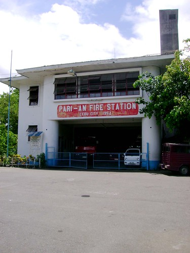 Parians old fire station