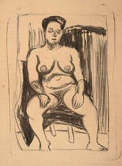 Seated Female Nude, ca. 1937-1940
