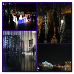 Vivid Festival - Light walk Mosaic