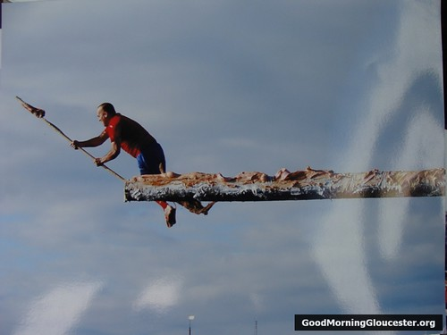 Russell Heinze- Greasy Pole Champ