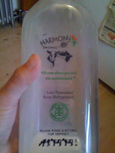 Harmony Milk from Fiesta Farms.