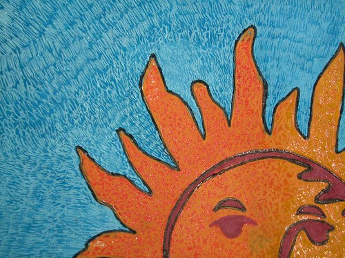 Blazing Sun Close Up