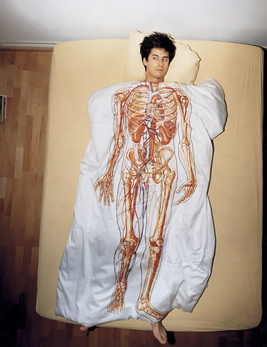 anatomical bedsheets