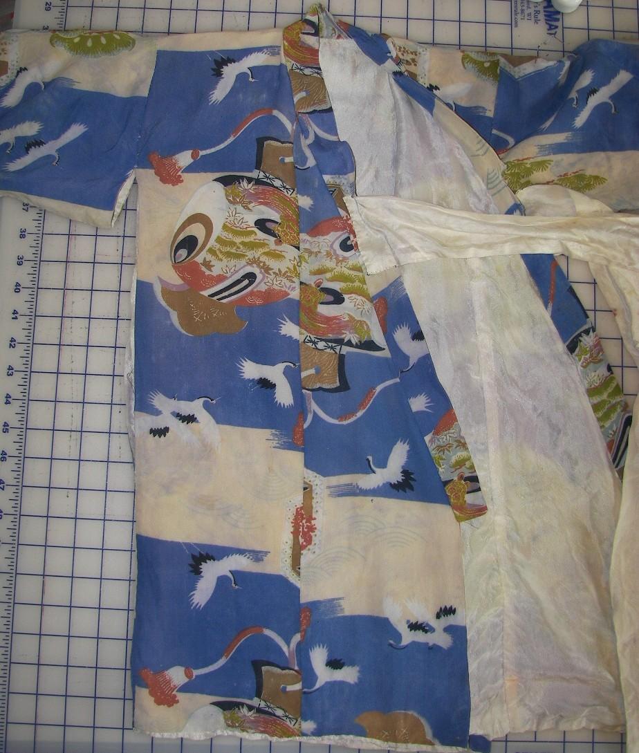 old child's kimono
