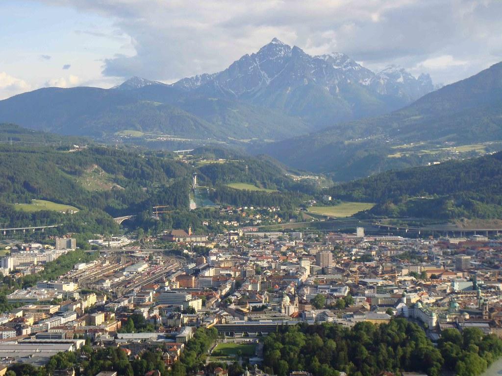Panorámica de Innsbruck (desde Nordpark)