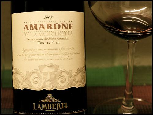 Amarone della Valpolicella 2003 Lamberti by mengteck
