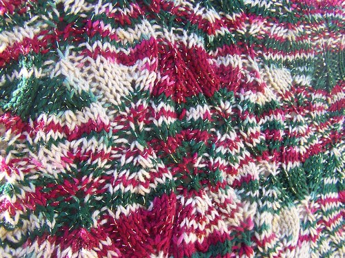 A closeup so you can see the stitch pattern a bit.