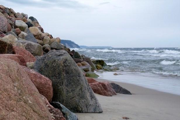 Куршская коса, Балтийское море, Калининградская область, Россия