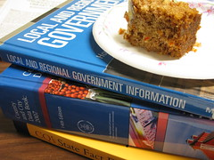 Mmmm....cake.  And government info.