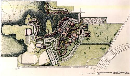Hannibal LaGrange College Master Plan Rendering