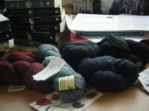 My Yarn Margarita: Knit Picks Shadow, Posh Yarns and Mmmmmmmalabrigo