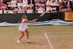 Tennis golden oldie - name the player