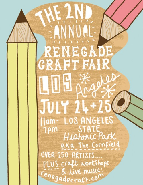 The Estate of Things chooses The Renegade Craft Fair Los Angeles