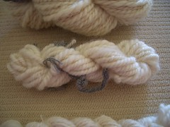 Mini skein of Corriedale