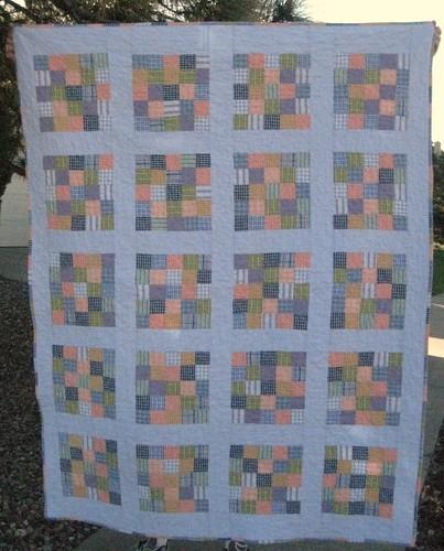 Shirt quilt front