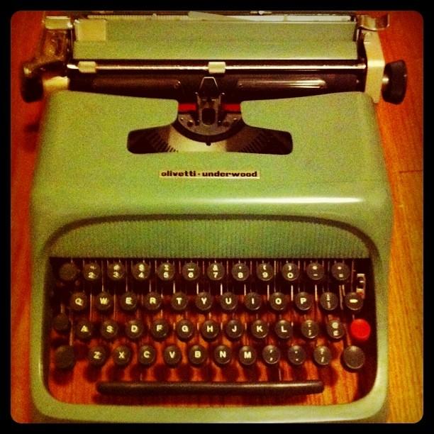 Typing friend.