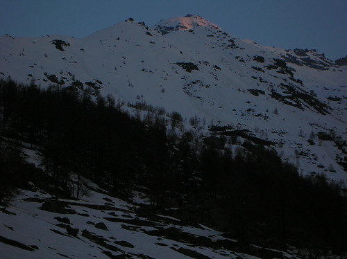 Alba sul Monte Morion